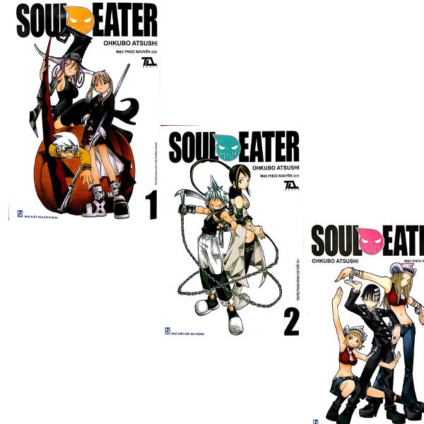 Combo Soul Eater (Bộ 3 Tập)