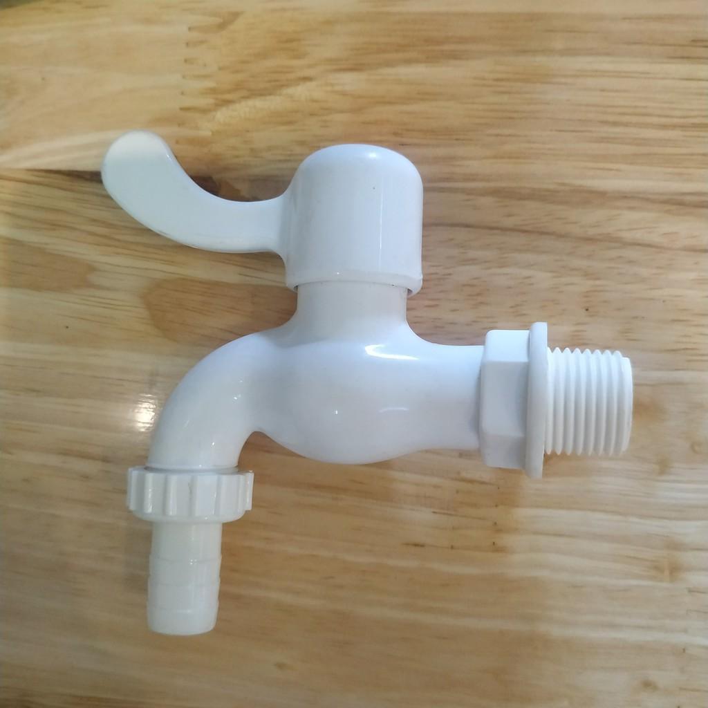 Vòi nước nhựa phi 21mm