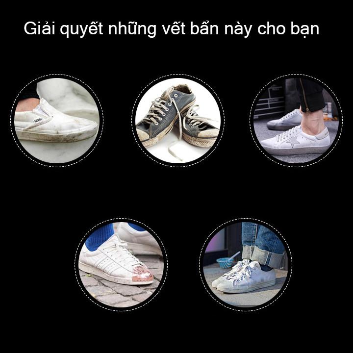 [Sạch giày nhanh] Chai xịt bọt tuyết làm sạch giày dép SNEAKER 250ml siêu sạch chính hãng THAFA-XG01