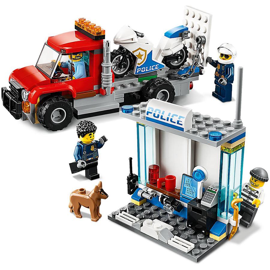 Đồ Chơi Lắp Ráp Lego City Thùng Gạch Cảnh Sát 60270 (301 Chi Tiết)   Châu  Khang