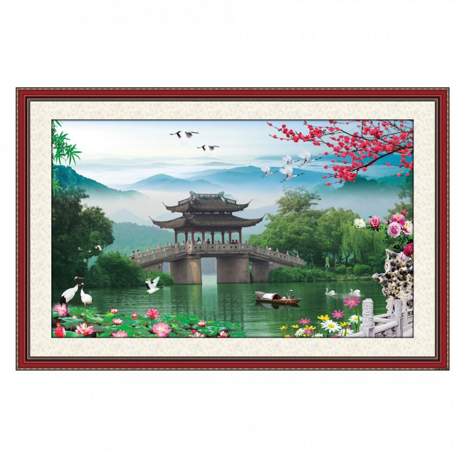 Tranh Dán Phong Thủy Q12K-ZTH(90)