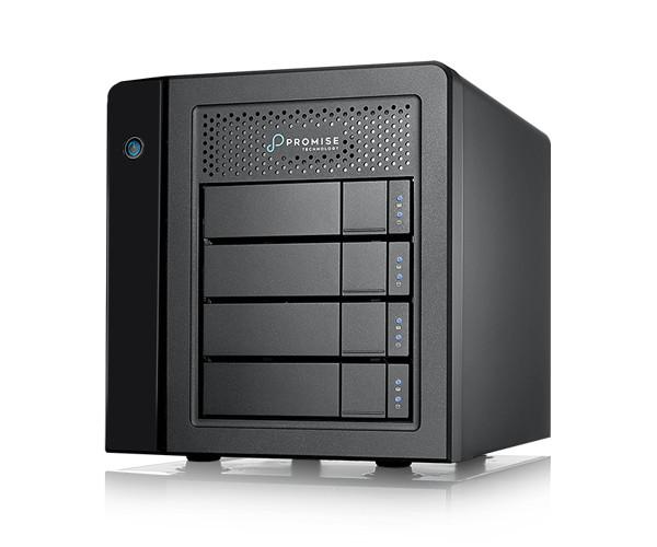 Thiết bị lưu trữ Promise Pegasus3 R4 12TB thunderbolt 3 Raid (4 x 3TB) – Hàng chính hãng