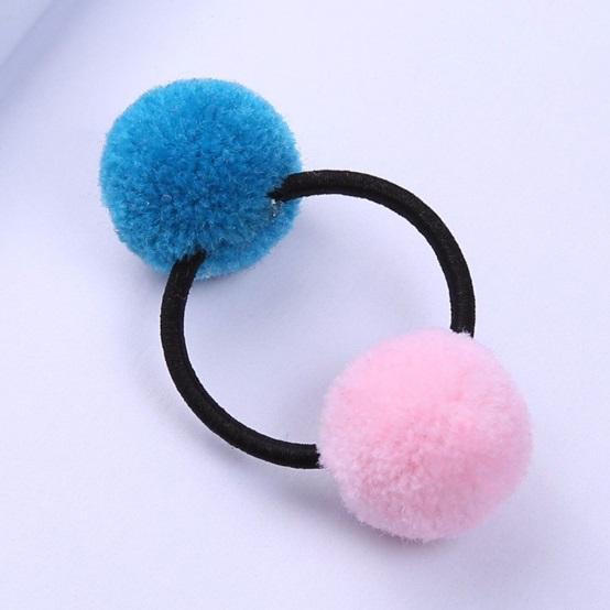 Dây thun cột tóc cho bé gái - Combo 4 cái (màu ngẫu nhiên)