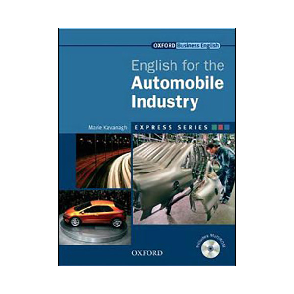 Express Industries English for the Automobile Industry Student's Book and MultiROM