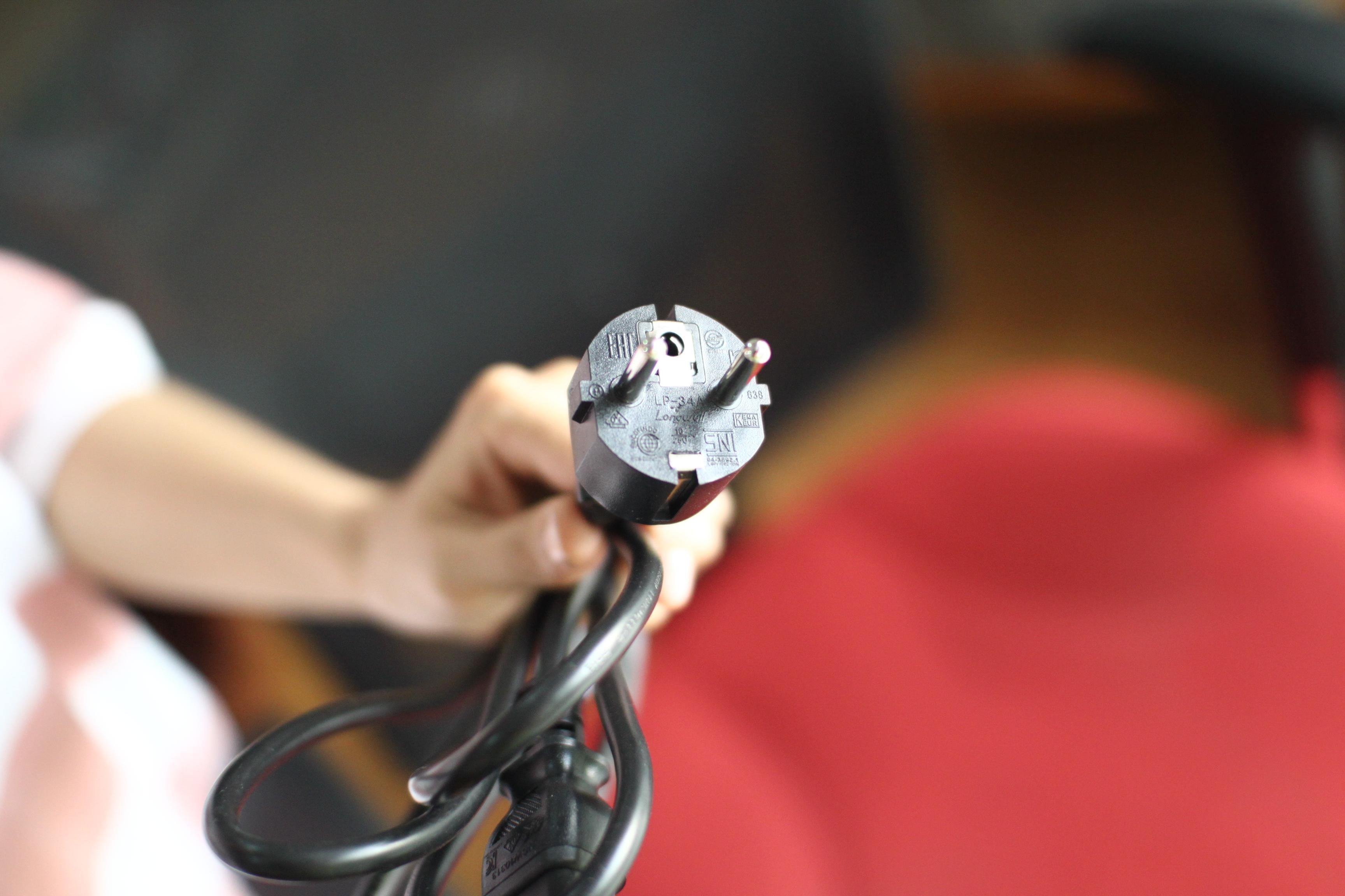 Dây nguồn PC Orizinal, Dây nguồn máy tính, dây nguồn PC dài 2m lõi đồng có cầu chì chống cháy nổ.