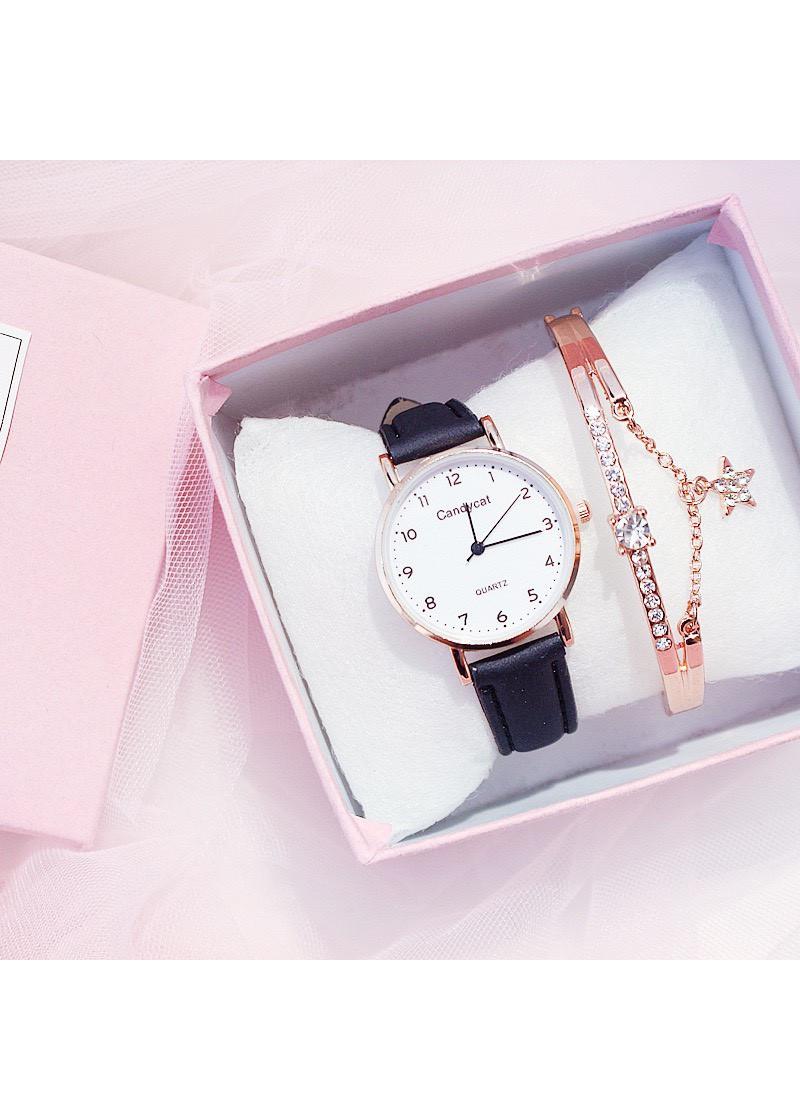 Đồng hồ dây da thời trang famigo đẹp DH30