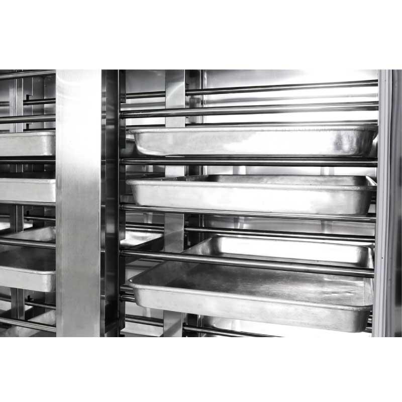 Tủ ủ bột, máy lên men thực phẩm loại 16 khay PF16. Máy dùng cho gia đình, hộ kinh doanh, nhà hàng, sản xuất công nghiệp số lượng lớn. Hàng chính hãng SGE Thailand.