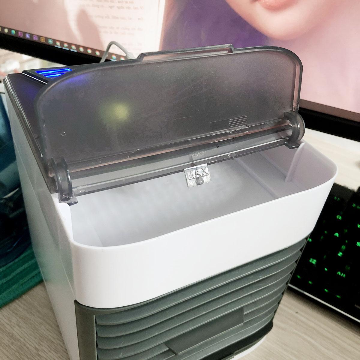 Quạt hơi nước mini Arctic Air Ultra để bàn cực mát | Quạt nước đá | Quạt làm mát – Hàng chính hãng