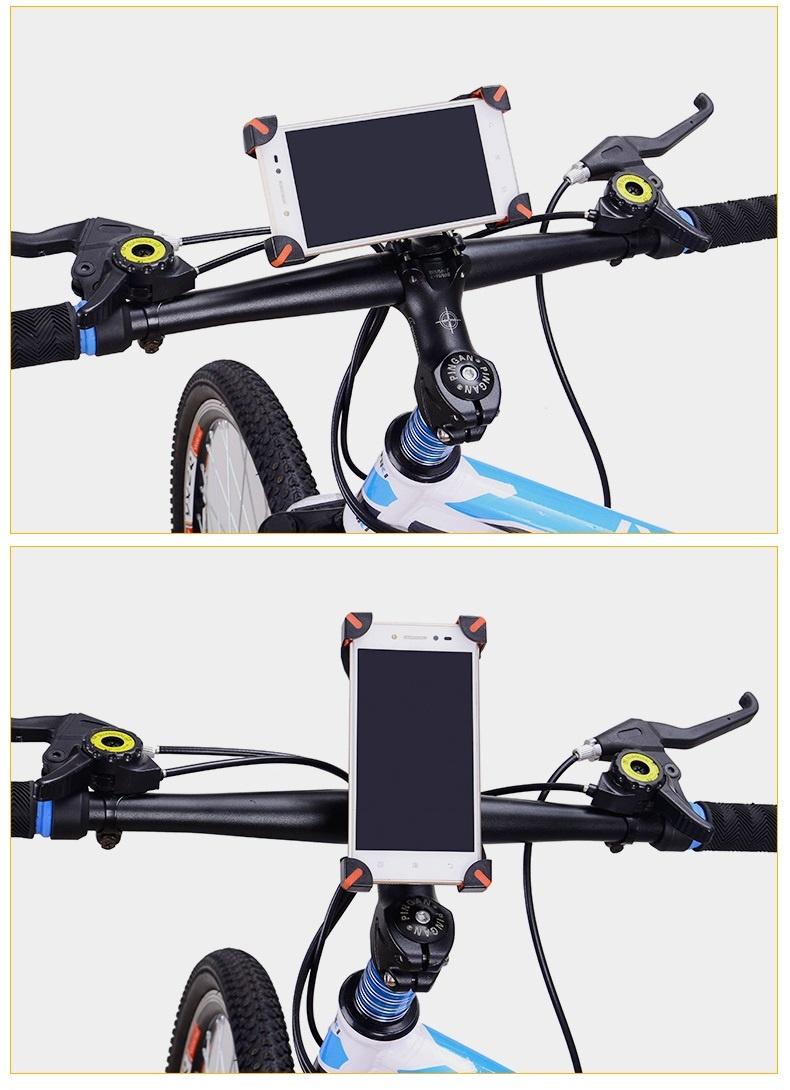 Giá đỡ kẹp điện thoại gắn vào tay lái xe đạp