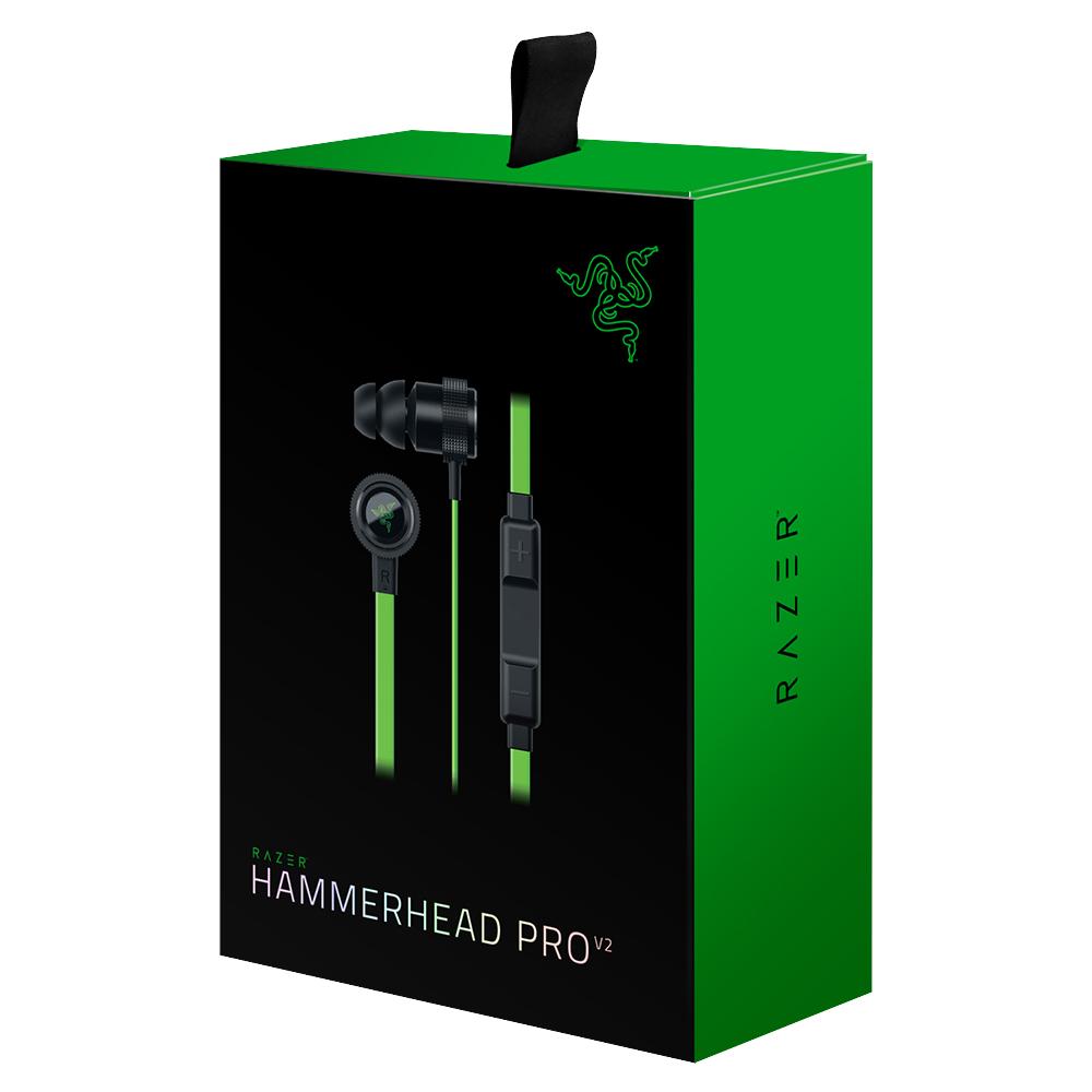 Tai Nghe Razer Hammerhead Pro V2 - Hàng Chính Hãng