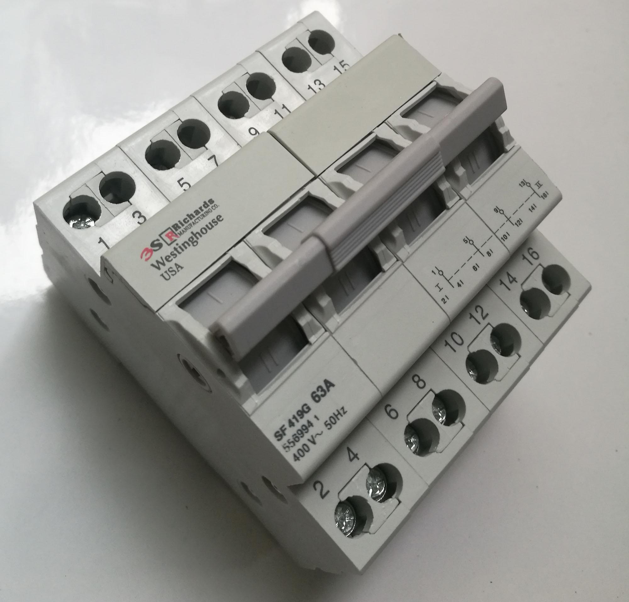 CẦU DAO ĐẢO CHIỀU MINI-4P-40A- RICHARDS