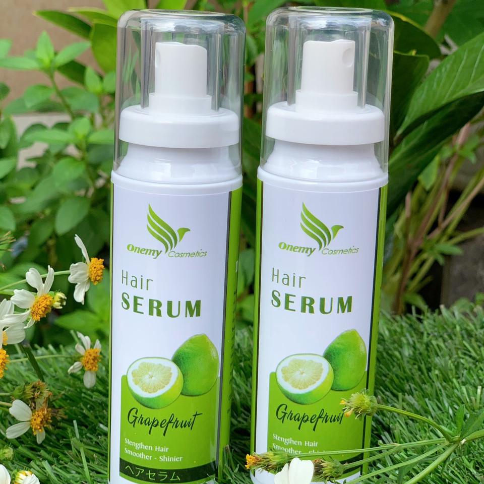 Serum tóc tinh dầu bưởi Onemy Grapefruit 100ml mọc tóc, giảm rụng và phục hồi tóc hư tổn - Chiết xuất tinh dầu vỏ bưởi