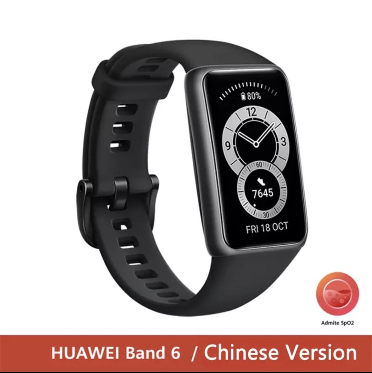 Vòng Đeo Tay Thông Minh Huawei Band 6 Full Tiếng Việt - Hàng Nhập Khẩu -  Vòng Đeo Thông Minh - Vòng Theo Dõi Vận Động Thương hiệu Honor