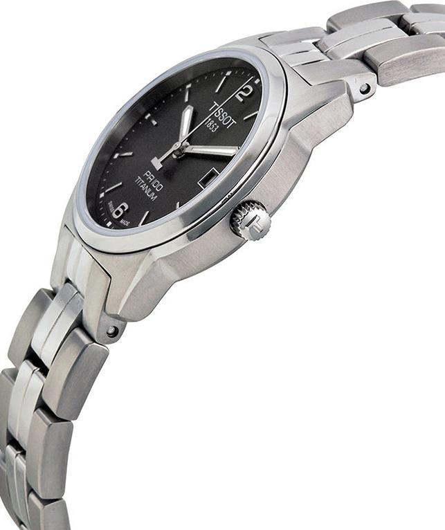 Đồng Hồ Nữ Dây Titanium Tissot T049.310.44.067.00 (28mm) - Xám