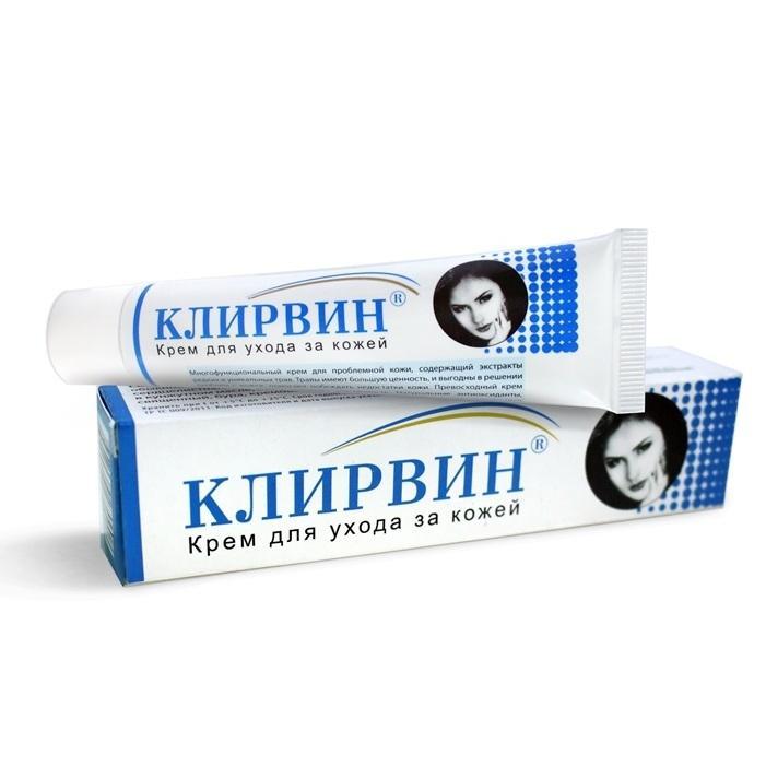 Combo 2 tuýp kem hỗ trợ điều trị sẹo lồi sẹo lõm Klirvin Cream của nga (25g)