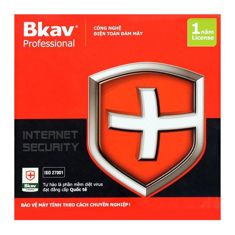 Phần Mềm Diệt Virus BKAV Profressional 1 PC 12 Tháng - Hàng Chính Hãng