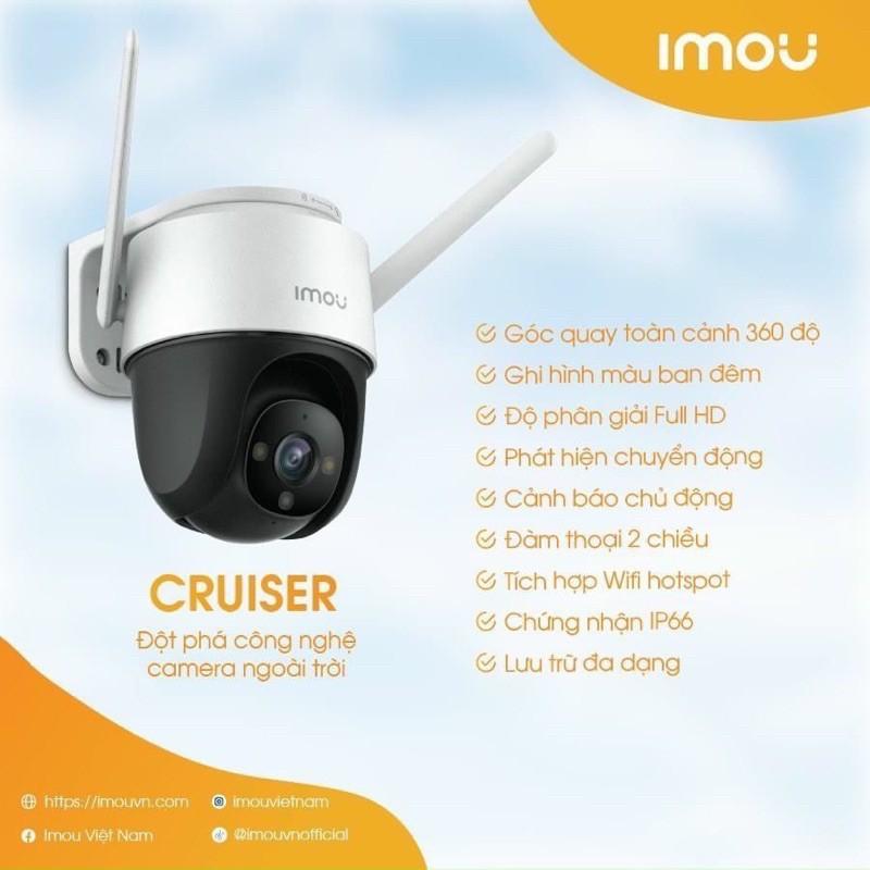 Camera PTZ Imou Cruiser S22FP - Hàng Chính Hãng
