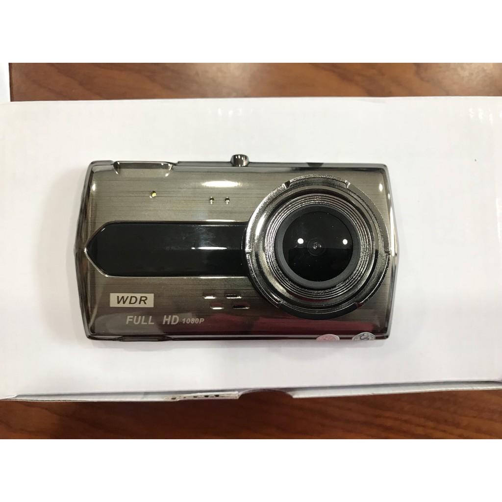 Camera Hành Trình xe hơi X008 Tiếng Việt ( Trước + Sau) - màn hình 4 inch - hàng nhập khẩu