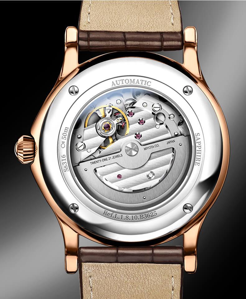 Đồng hồ nam chính hãng Lobinni No.1810-1