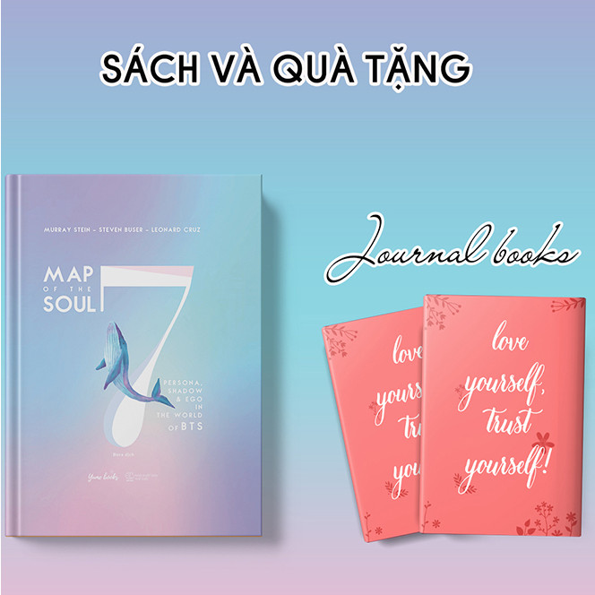 Map Of The Soul:7 - Persona, Shadow & Ego In The World Of BTS – Bìa Cứng (Tặng Kèm Sổ Tay)