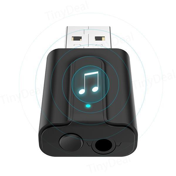 Thiết Bị Thu Phát Nhạc Không Dây Bluetooth 5.0 BT-T10 AZONE