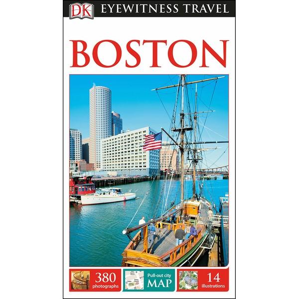 DK Eyewitness Travel Guide Boston