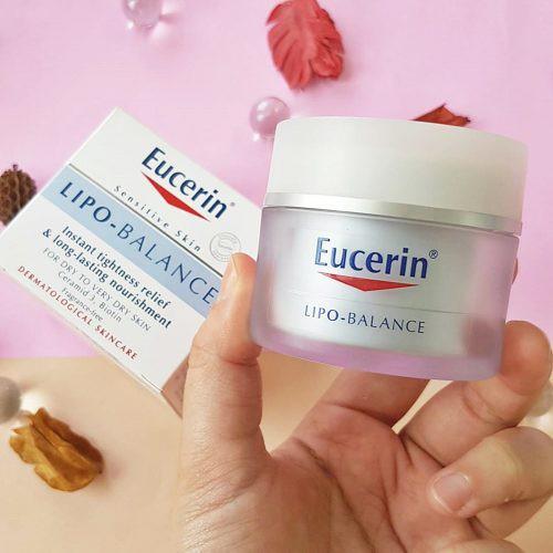 Kem Dưỡng Ẩm Chuyên Sâu Eucerin Sensitive Skin Lipo Balance 50g