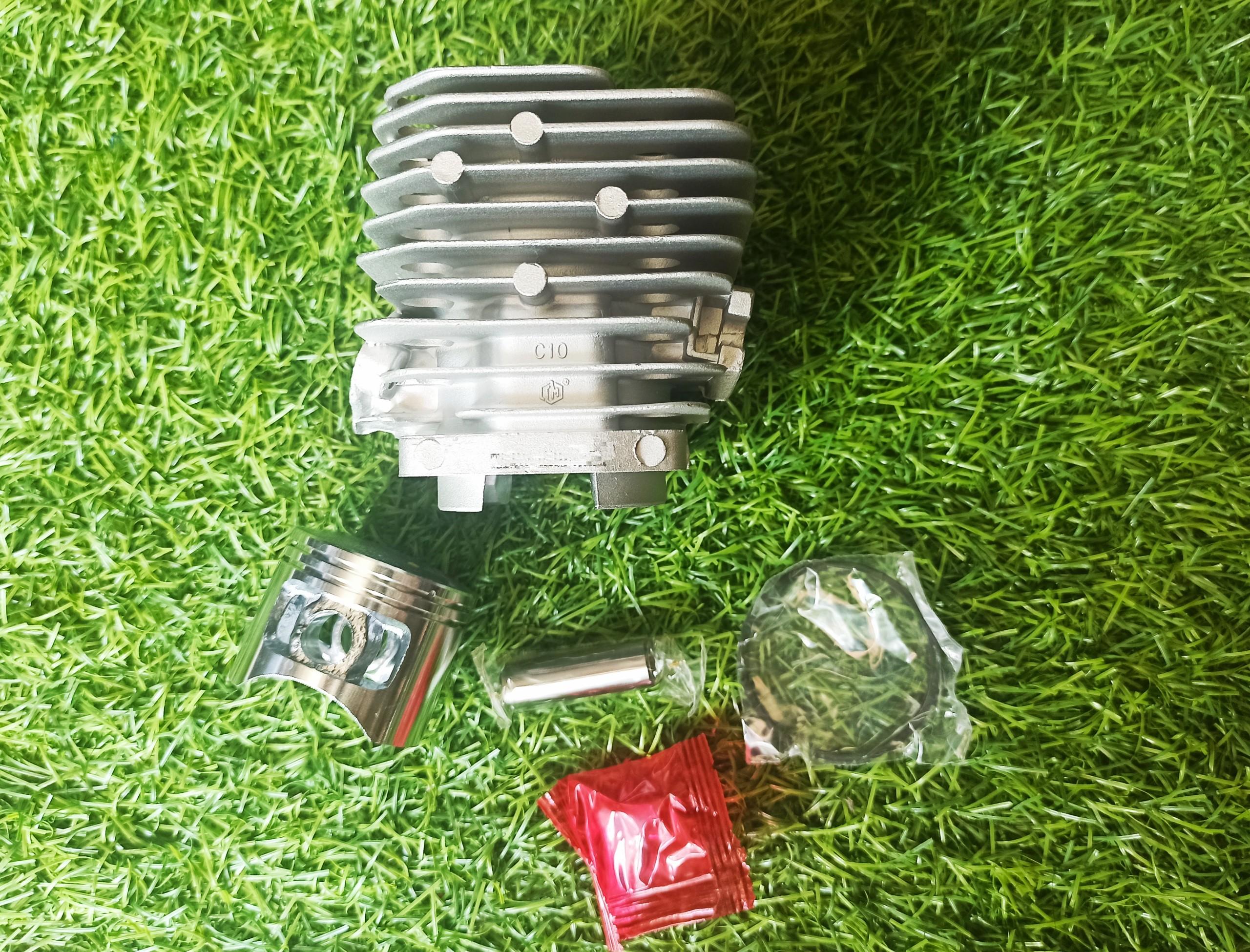 Bộ Hơi nòng xi lanh piston máy cắt cỏ 2 thì 34F thay thế cho máy 260, 26cc