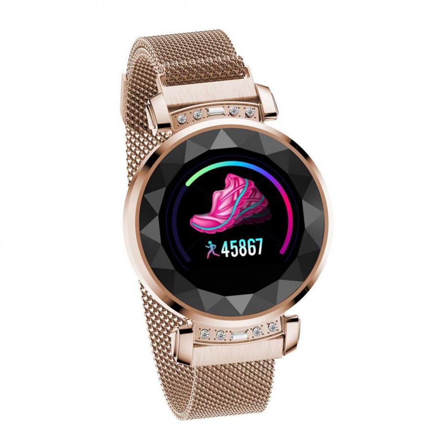 Đồng hồ thông minh Tuxedo TW9, sang trọng, hiện đại, nữ tính, thông minh-Hàng Chính Hãng