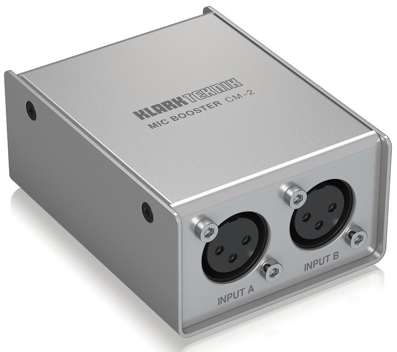 KLARK TEKNIK MIC BOOSTER CM-2 - Dynamic Microphone Booster-Hàng Chính Hãng