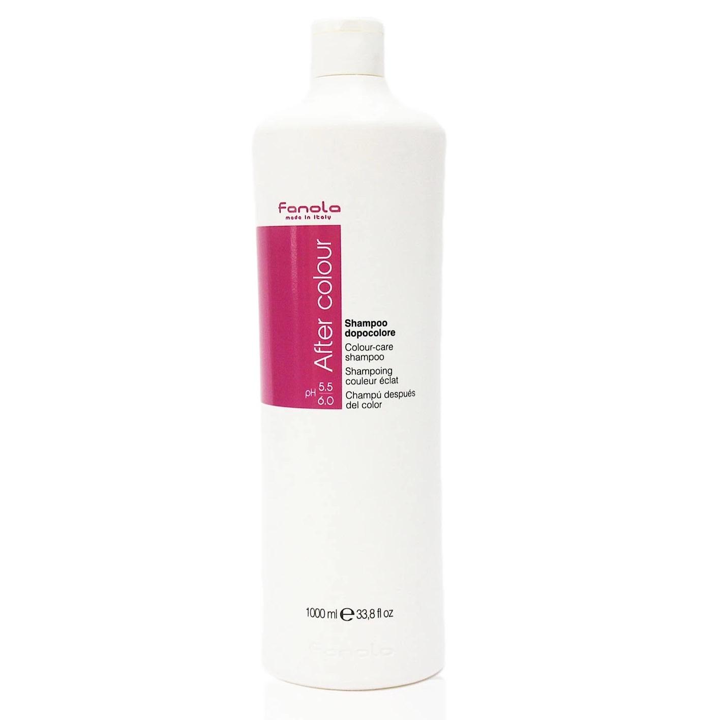 Dầu gội Fanola After Colour Care shampoo chăm sóc tóc nhuộm giữ màu lâu phai Italy 1000ml