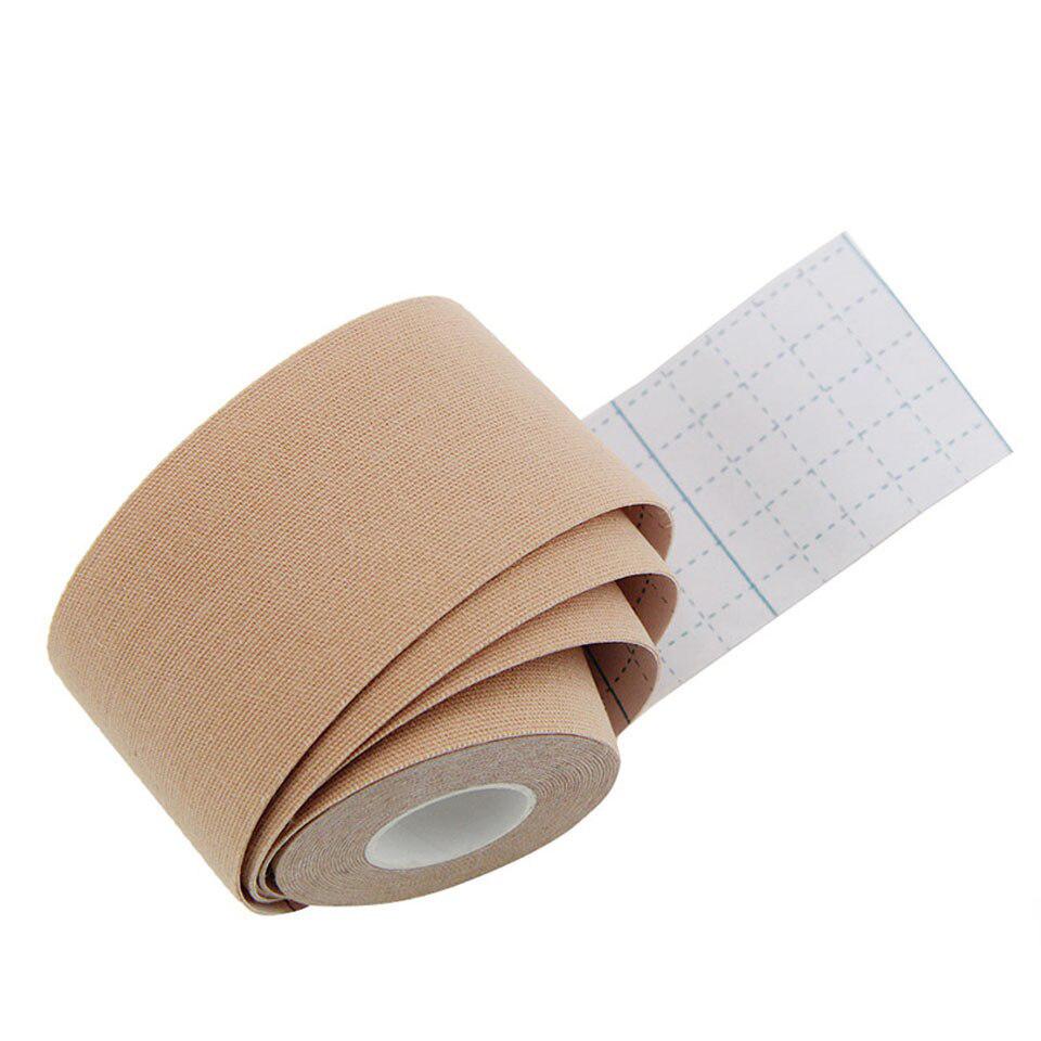 Băng dán cơ thể thao Kinesiology Tape 5cm*5m cao cấp Muscle bandage sticker AOLIKES YE-MT002 - Hàng Chính Hãng