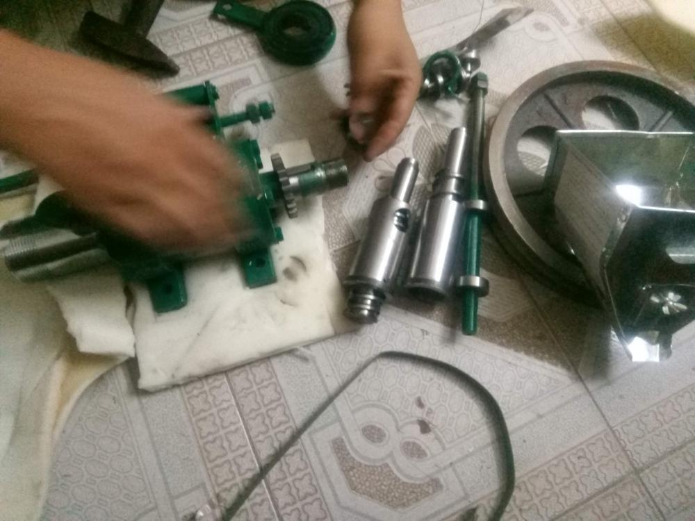 Đầu nổ bỏng 7 bec có dao cắt bỏng