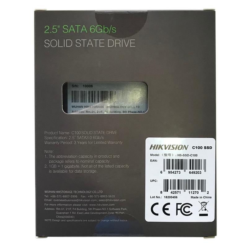 Ổ Cứng SSD Hikvision C100 120GB - Hàng Chính Hãng