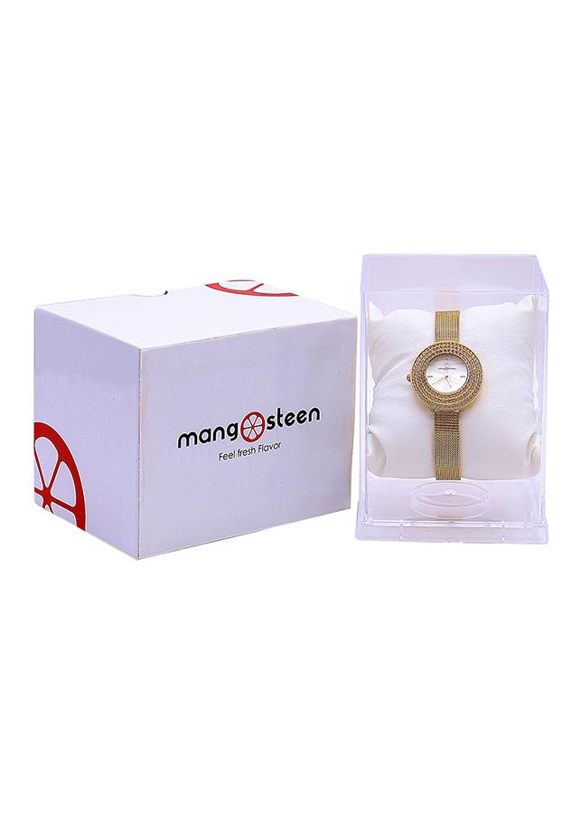 Đồng Hồ Nữ Dây Thép Mangosteen MS509E (Vàng)