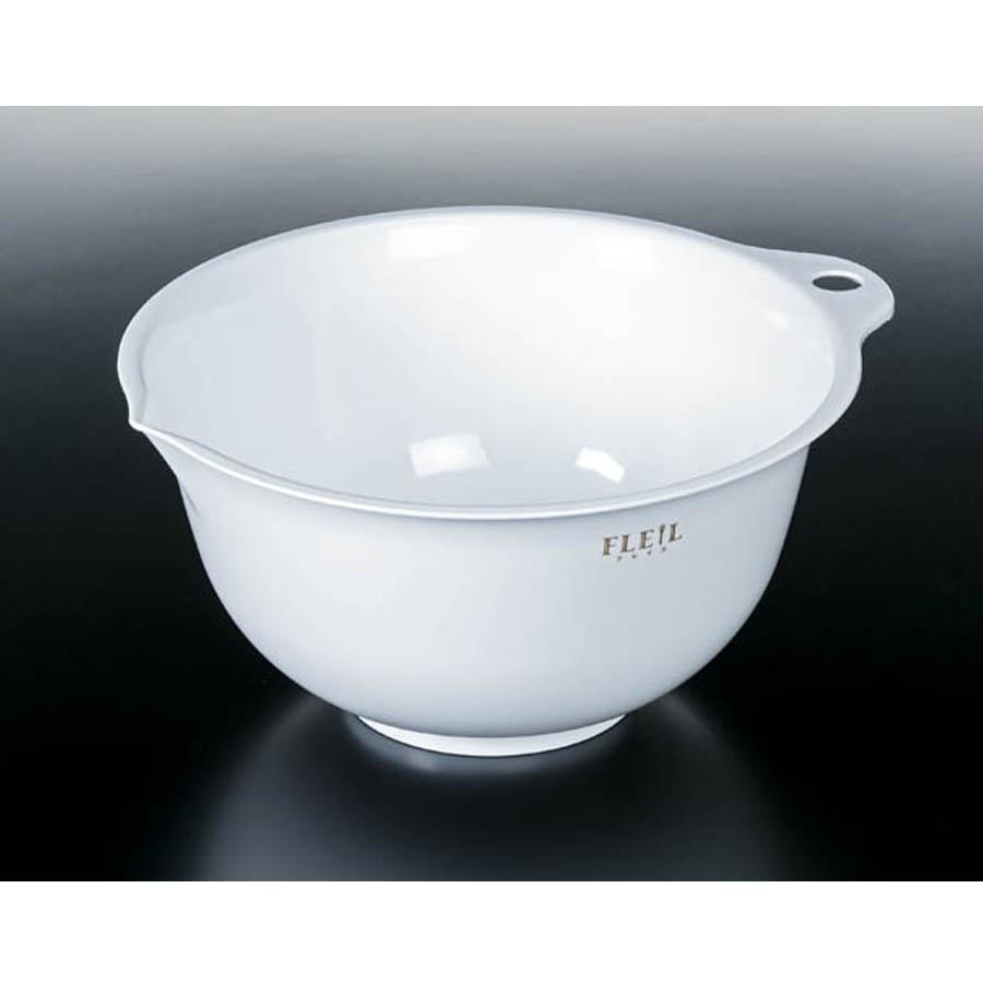 Bộ 2 chậu rửa thực phẩm 2,2 L ( màu trắng ) -  hàng nội địa Nhật.
