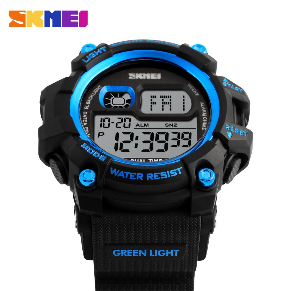 Đồng hồ đeo tay Skmei - 1229BU-Hàng Chính Hãng