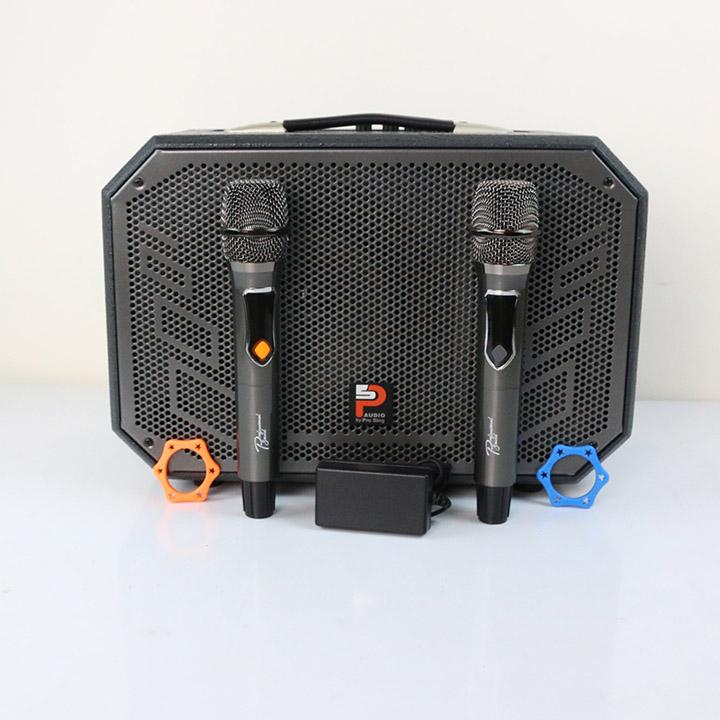 Loa kéo ProSing W8-Alisa - Loa karaoke nhỏ gọn, công suất 100W - Hàng Chính Hãng