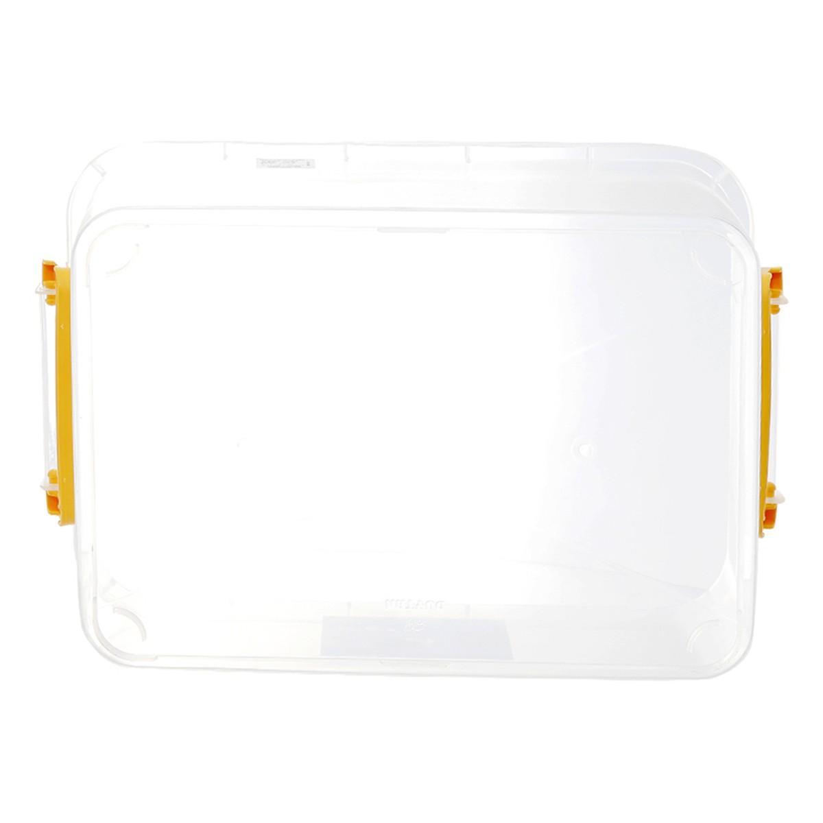 Thùng chữ nhật 55 lít Duy Tân No.0998 (67.6 x 45.7 x 25.4 cm) thùng trong suốt giao quai màu ngẫu nhiên thùng đựng thực phẩm đồ đa năng