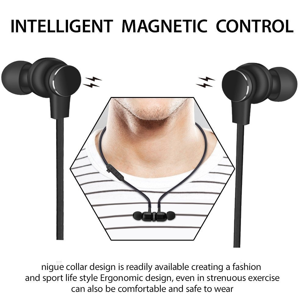 Tai nghe Bluetooth Wireless tai nghe nhét tai  thẻ nhớ PF150 T1 Đen