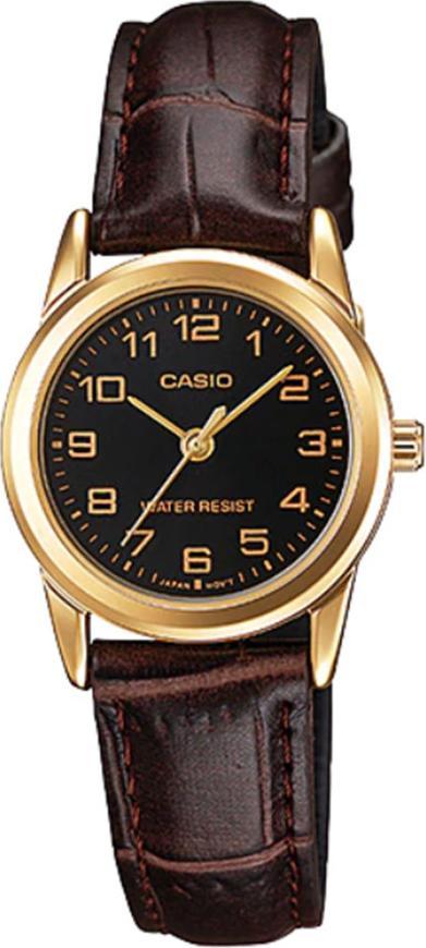 Đồng hồ nữ dây da Casio LTP-V001GL-1BUDF