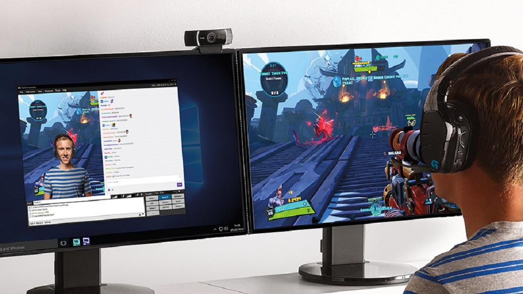 Webcam Live Stream C922 Pro Chuyên Nghiệp Dành Cho Game Thủ, Streamer