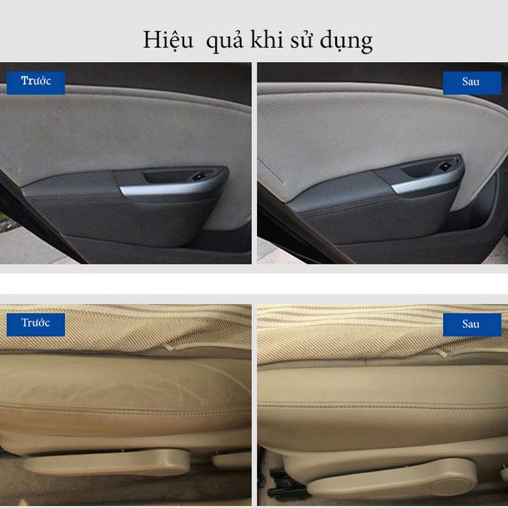Chai xịt vệ sinh nội thất xe hơi kèm đầu cọ