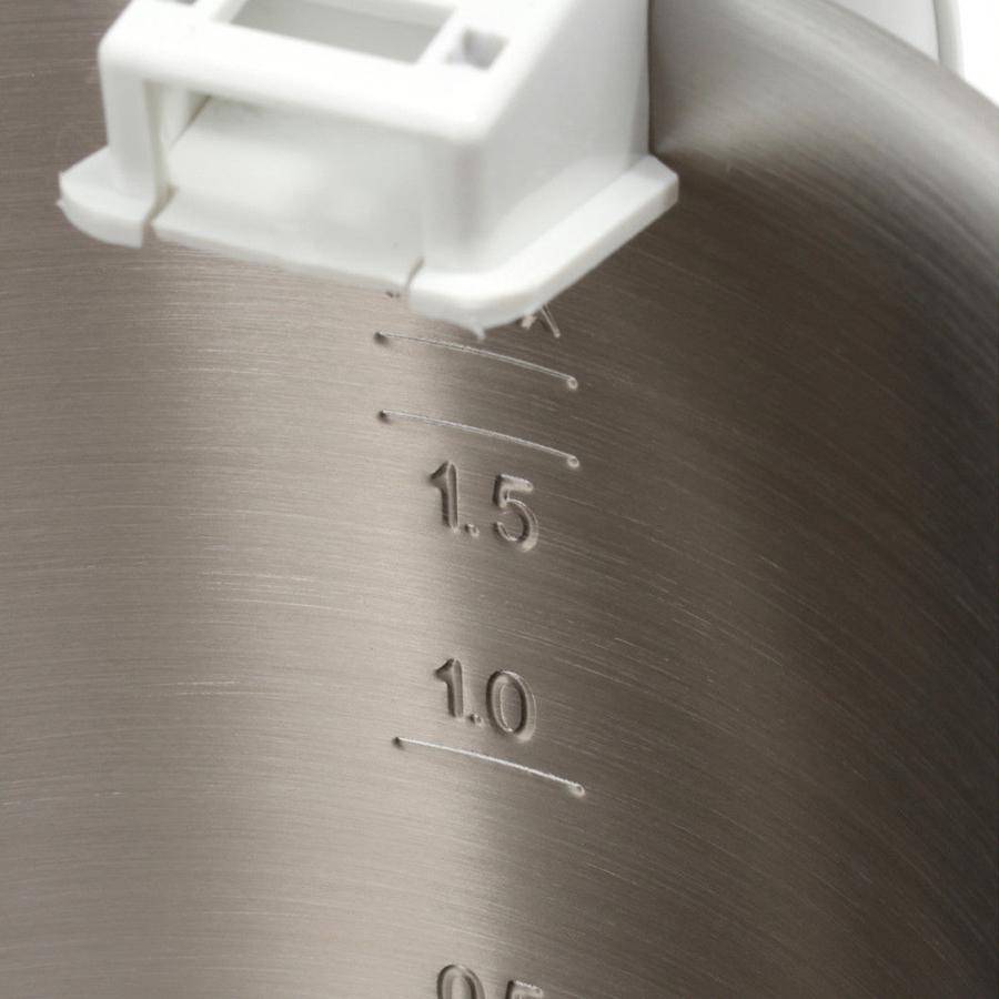 Ấm Siêu Tốc Bosch TWK1201N (1.7L) - Trắng Bạc - Hàng chính hãng