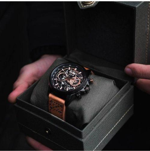 Đồng hồ Anh AVI-8 Nam Chronograph AV-4065-03 (45mm)