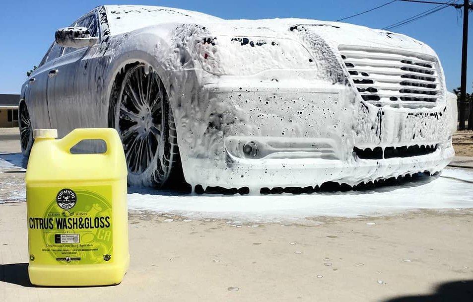 Nước rửa xe đậm đặc và phủ bóng sơn 473ml - Chemical Guys Citrus Wash & Gloss Concentrated Car Wash (16 oz)