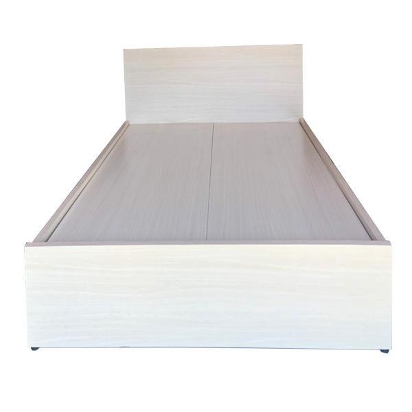 Giường Ngủ Gỗ MDF Melamine Màu Lim