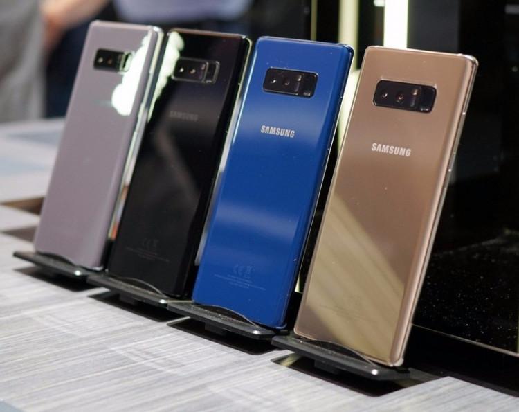 Samsung Galaxy Note 8 Chính hãng Fullbox 3