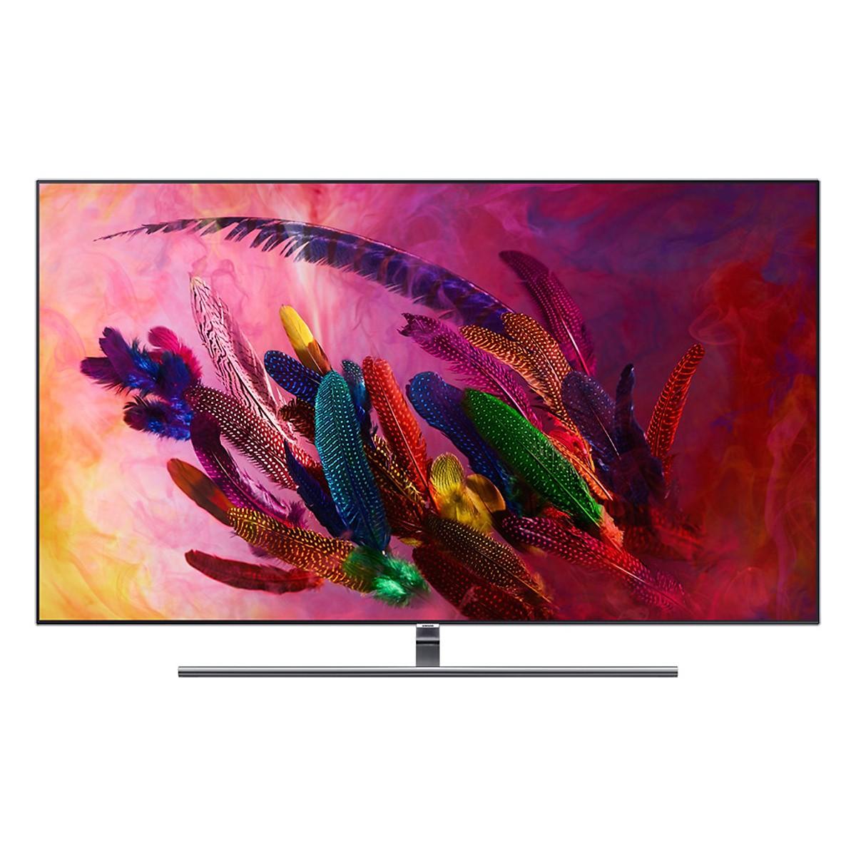Smart Tivi Samsung 65 inch QLED 4K QA65Q7FNAKXXV - Hàng Chính Hãng + Tặng Khung Treo Cố Định