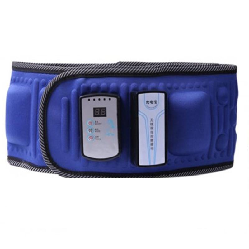 Đai Massage hỗ trợ giảm mỡ, Dùng Pin Sạc, Tặng Hộp Khẩu Trang Vải Kháng Khuẩn - Máy Massage